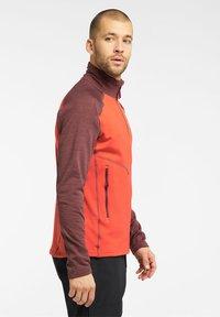 Haglöfs - HERON  - Fleece jacket - habanero/maroon red - 2