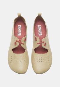 Camper - NINA - Ankle strap ballet pumps - beige - 1