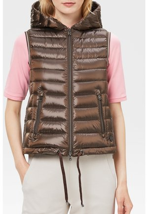 LEICHT TERESA - Waistcoat - braun