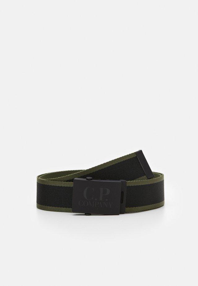 BELT - Cintura - black/khaki