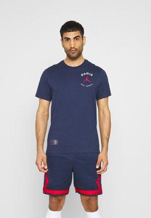 PARIS ST. GERMAIN LOGO TEE - Club wear - midnight navy