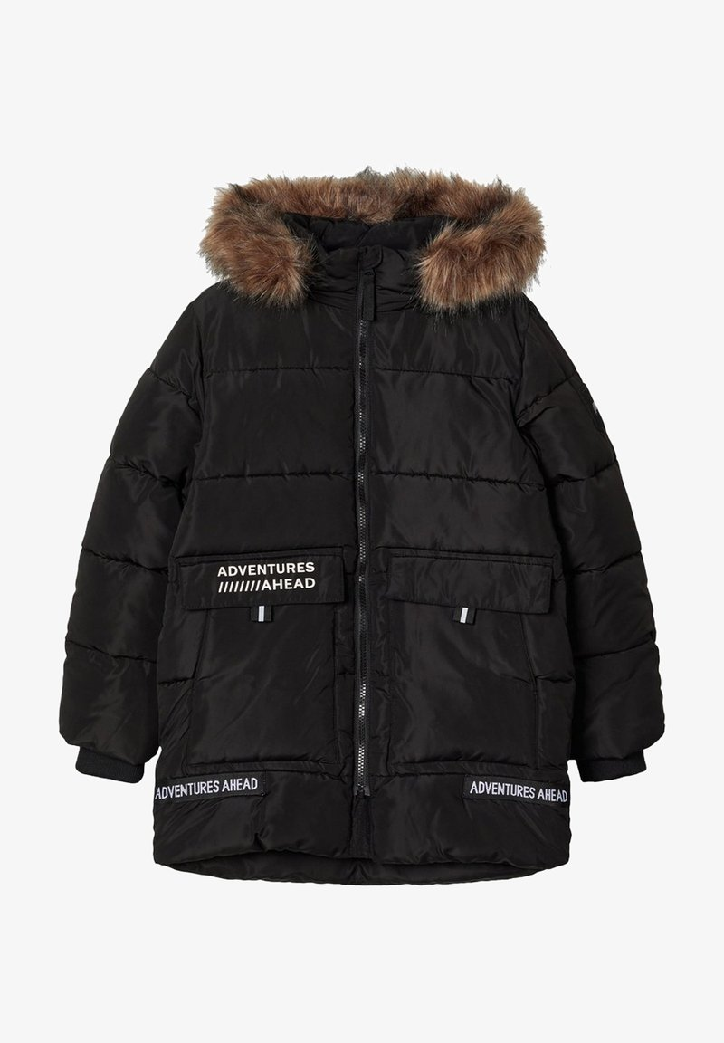 Name it - NKMMANNIBAL - Winter coat - black