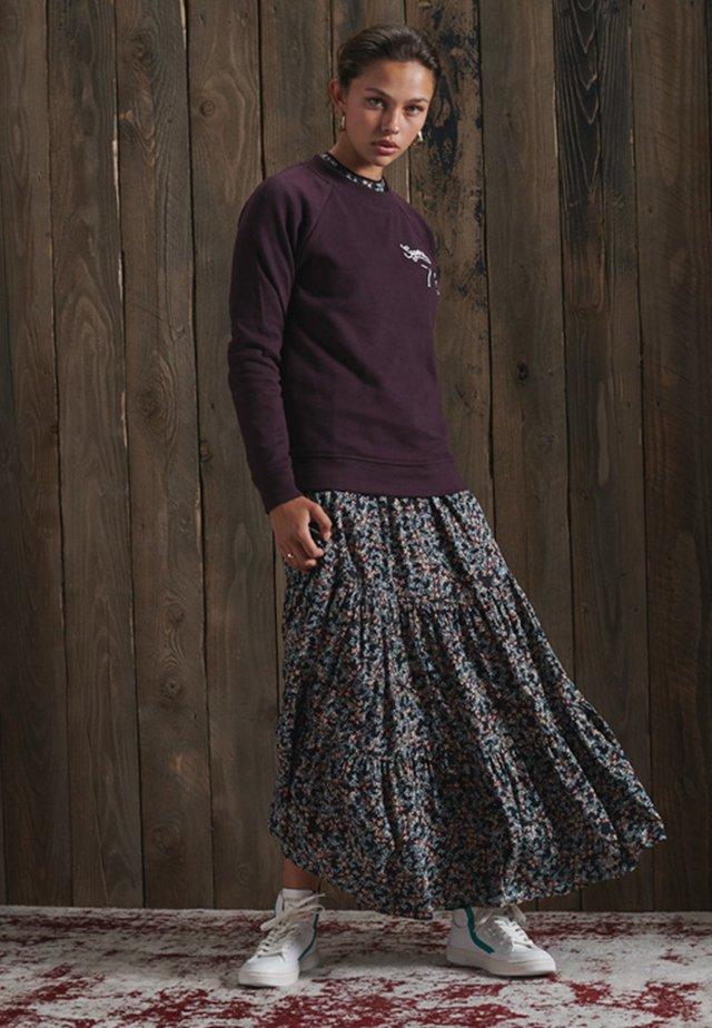 SOFT - Sweatshirt - autumn blackberry marl