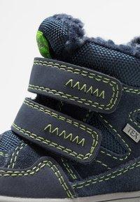 Lurchi - JAUFEN TEX - Winter boots - navy/green - 2
