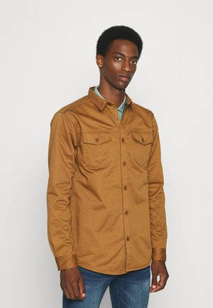 GRANT - Short coat - rubber