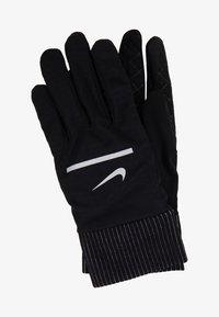 Nike Performance - SPHERE RUNNING GLOVES 2.0 - Fingervantar - black/silver - 2
