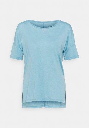 LAYER - Jednoduché triko - cerulean heather/glacier blue/light armory blue