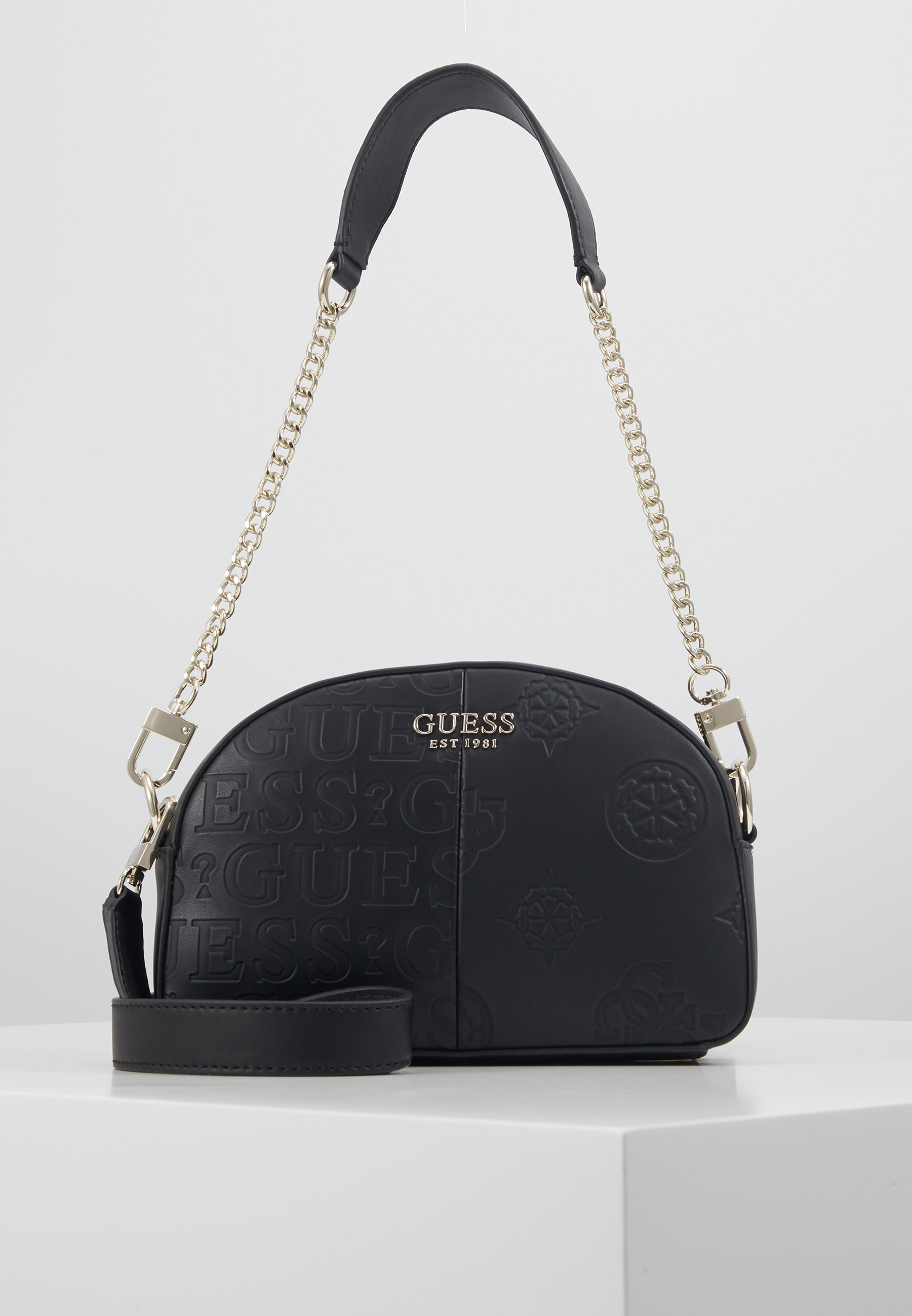 Guess Kaylyn Mini Crossbody Top Zip - Handtasche Black/schwarz