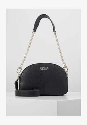 KAYLYN MINI CROSSBODY TOP ZIP - Håndveske - black