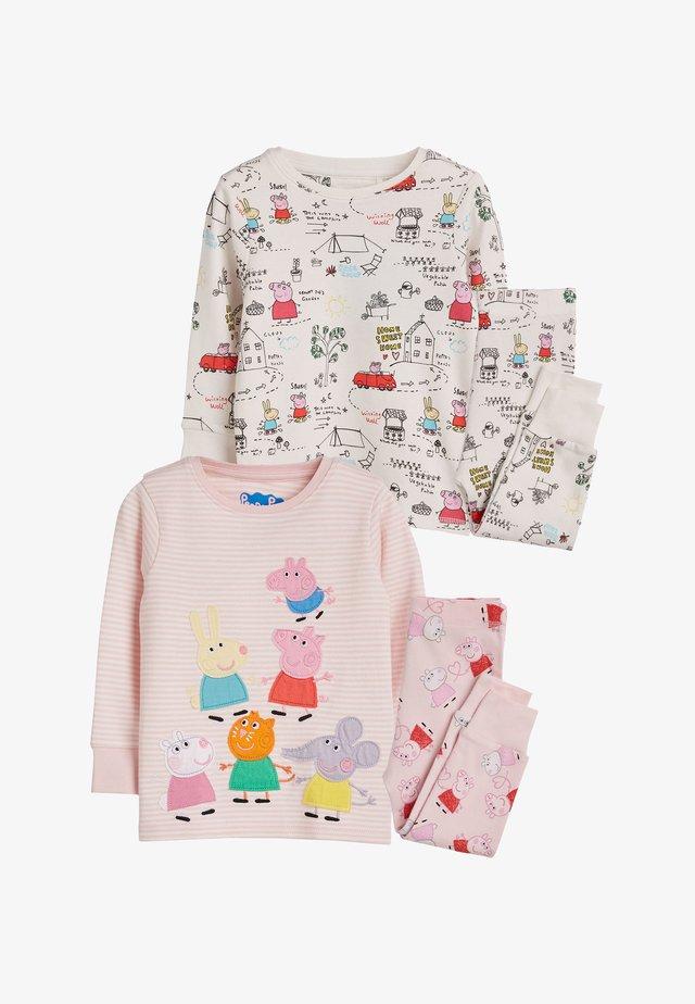2 PACK PEPPA  - Pyjama set - pink