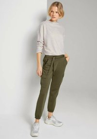 TOM TAILOR DENIM - Sweatshirt - creme beige melange - 1