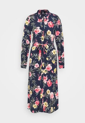 AURELIE - Košilové šaty - blue floral