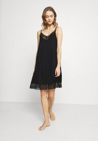 Hanro - WANDA DRESS - Nightie - black - 1