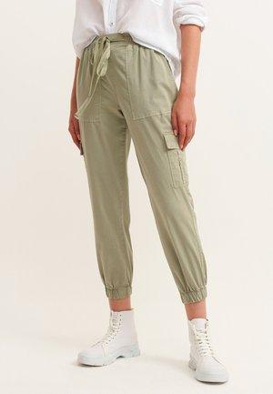 Cargo trousers - antik seagrass