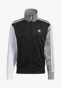 adidas Originals - BLOCKED FIREBIRD TRACK TOP - Training jacket - black - 5