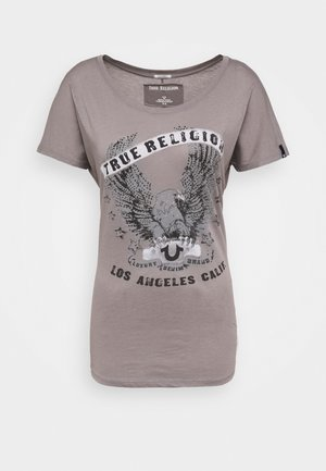 CREW RELAX EAGLE - Camiseta estampada - grey