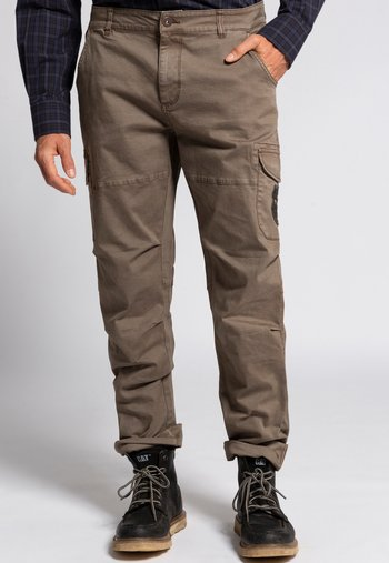 Cargo trousers - dunkeltaupe