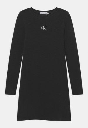 FANTASY DRESS - Jersey dress - black