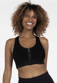 DORINA - Sports bra - black - 0