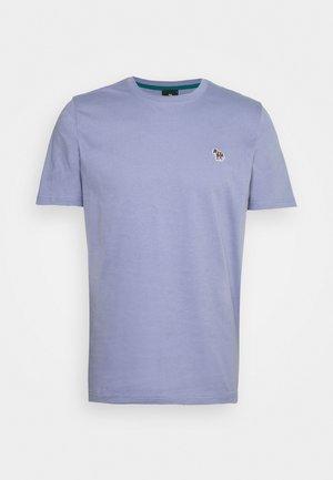 MENS ZEBRA - Basic T-shirt - light blue