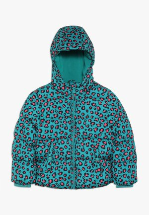 Winter jacket - teal blue