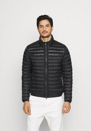 STAND UP COLLAR VISLON  - Light jacket - black