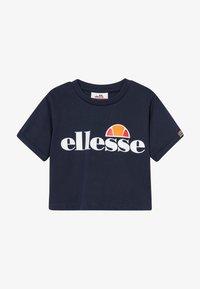 Ellesse - NICKY - Print T-shirt - navy - 2