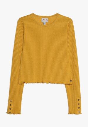 TEE - Long sleeved top - mustard