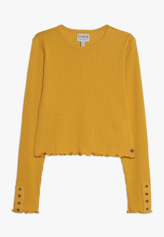 TEE - Camiseta de manga larga - mustard