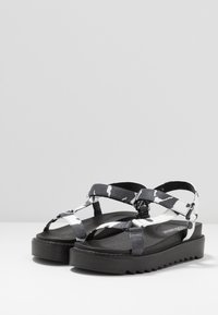 Koi Footwear - VEGAN  - Korkeakorkoiset sandaalit - black - 2
