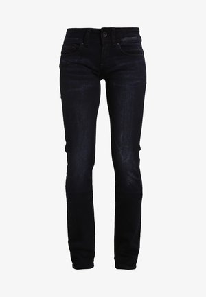 MIDGE SADDLE MID STRAIGHT  - Jeans straight leg - rink superstretch