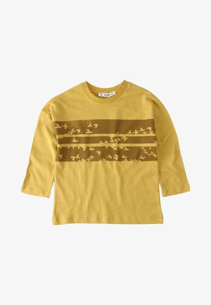 Long sleeved top - mustard yellow