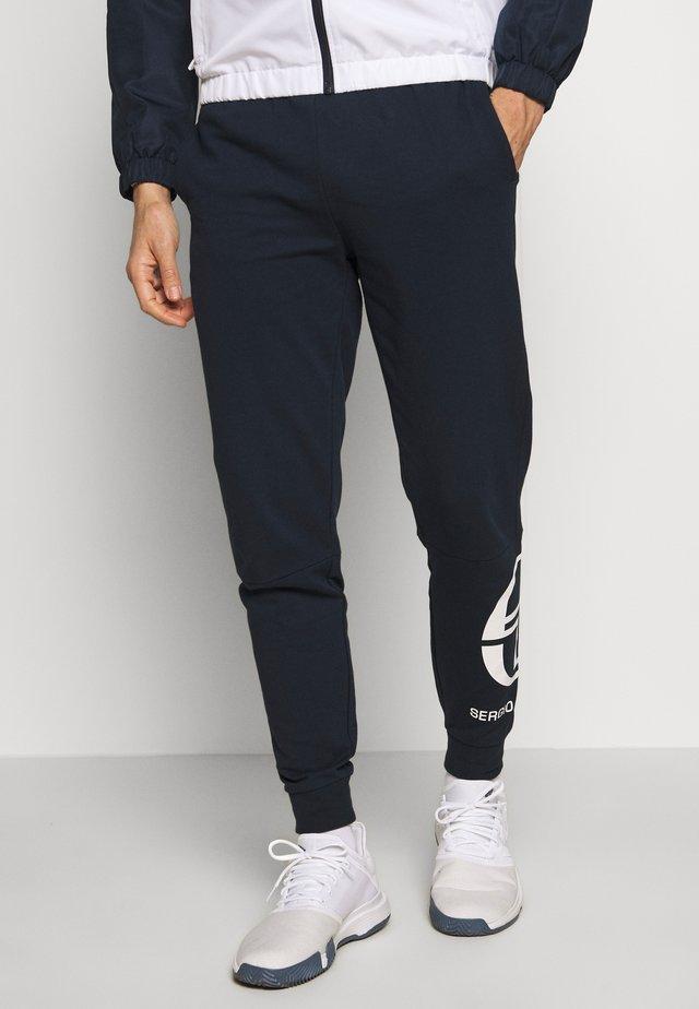 CHALMERS PANTS - Pantaloni sportivi - navy/white