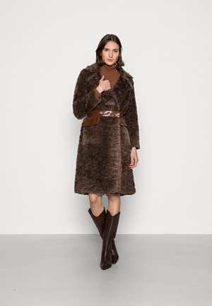 E-SAFRAN - Winter coat - marron