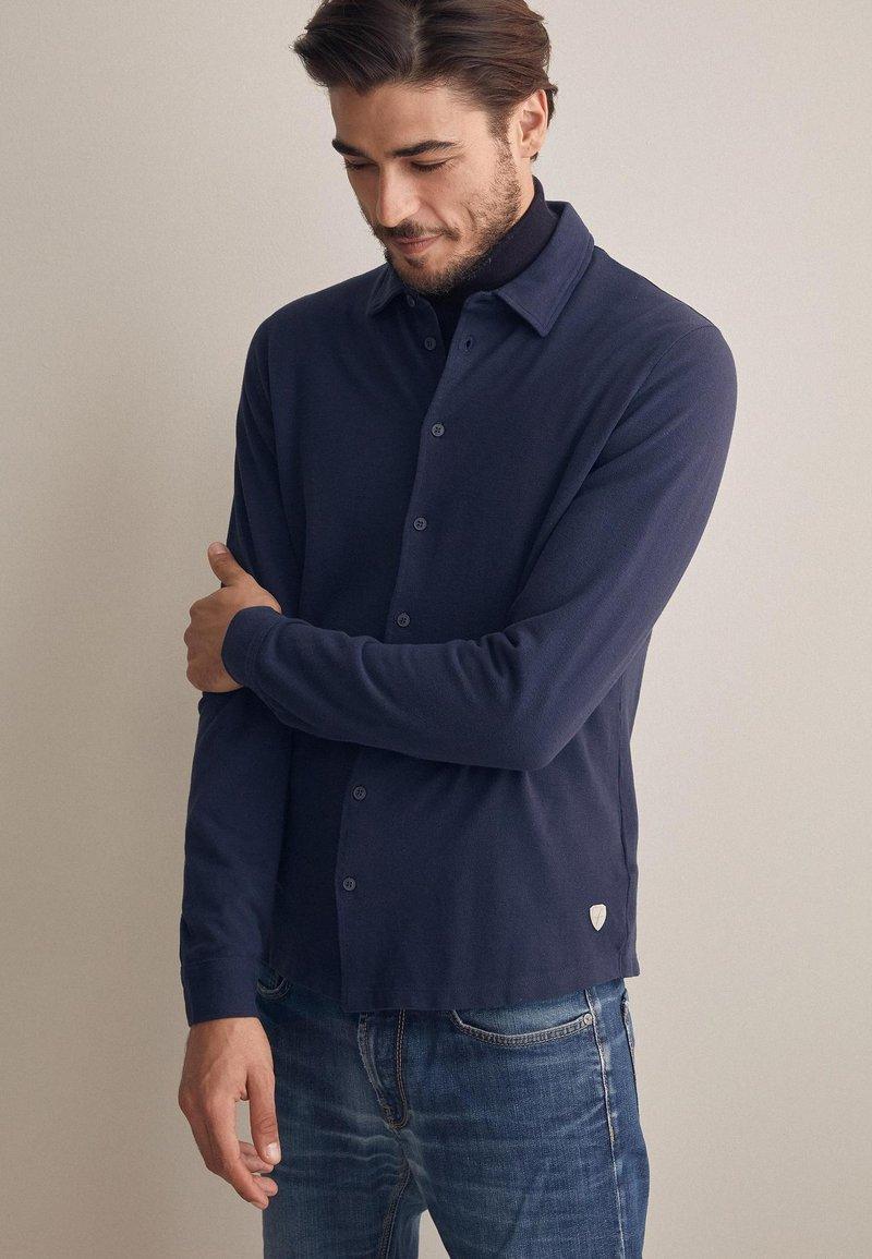 Falconeri - Shirt - stone blue denim