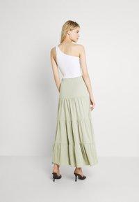 ONLY - ONLMAY LIFE SKIRT - Maxi skirt - desert sage - 2
