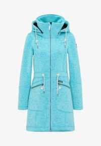 Schmuddelwedda - Short coat - türkis melange - 4