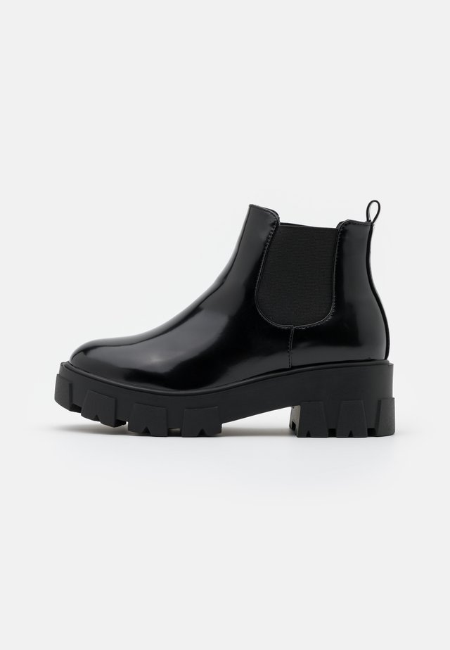WIDE FIT LIZA - Ankle boot - black