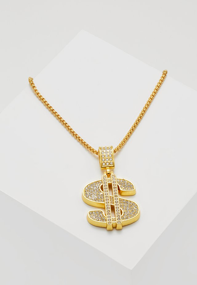 DOLLAR NECKLACE - Naszyjnik - gold-coloured