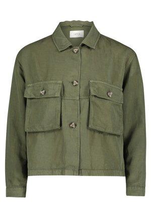 MIT AUFGESETZTER BRUSTTASCHE - Summer jacket - four leaf clover