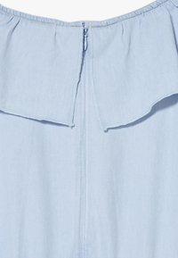 Esprit - DRESS - Korte jurk - light indigo denim - 4