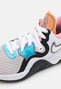 Nike Performance - RENEW ELEVATE 2 - Chaussures de basket - iris whisper/black/scuba blue/mystic red - 5