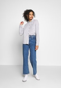 Lacoste - Button-down blouse - silver chine - 1