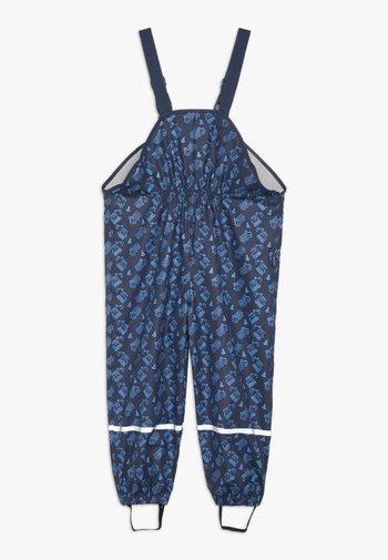 BAUSTELLE ALLOVER - Kalhoty do deště - marine