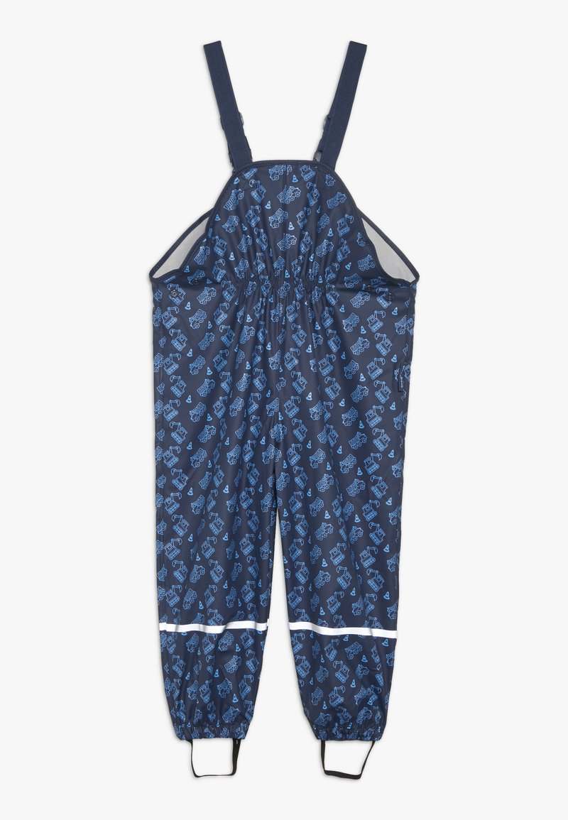 Playshoes - BAUSTELLE ALLOVER - Pantalones impermeables - marine