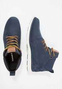 Timberland - KILLINGTON CHUKKA - Lace-up ankle boots - black iris - 1