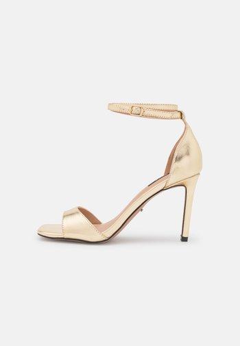 ONLALYX - Sandály na vysokém podpatku - gold