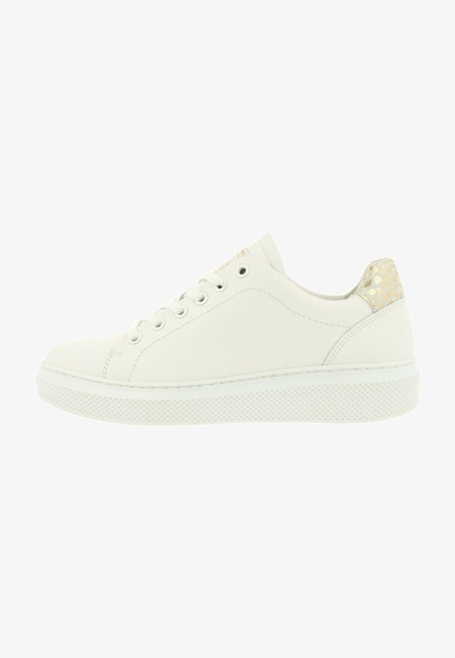 Sneakers laag - white-gold