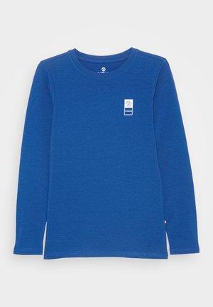 Langarmshirt - pool blue
