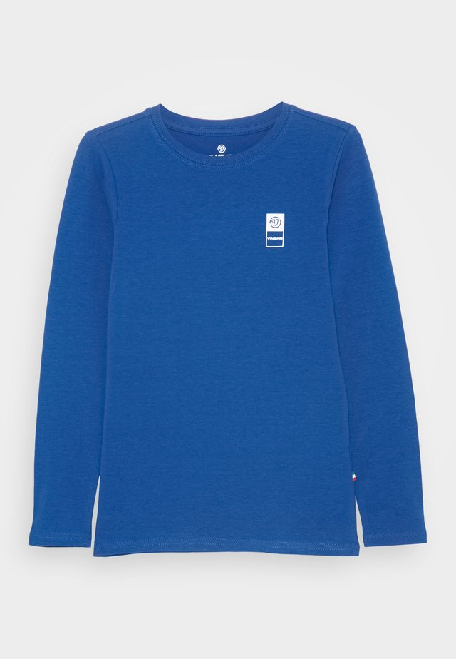 Long sleeved top - pool blue